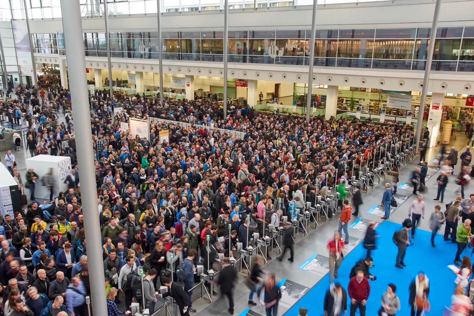 ISPO MUNICH Entrance