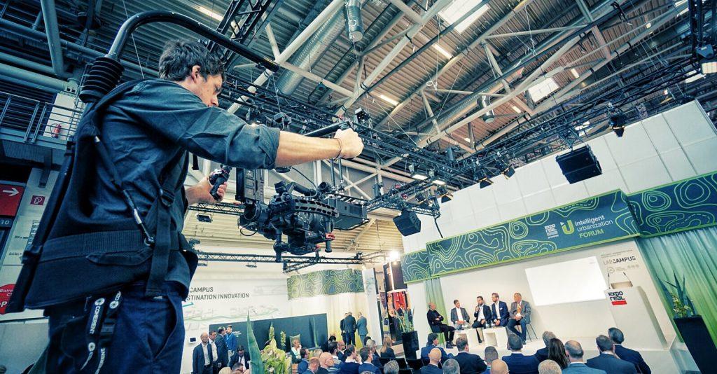 Produktion auf der EXPO REAL 2019