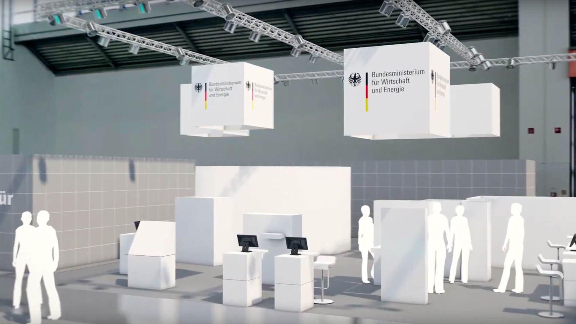 Treffpunkt Fachwelt - Die Halle C2 der IHM bietet ein umfangreiches Angebot auf über 10.000 m² für Experten, Fachbesucher und Entscheider aus Handwerksbetrieben, Handwerkskammern und der Handwerkspolitik.